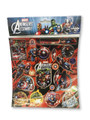 Sticker Sheet - Avengers - 1 Sheet - Red