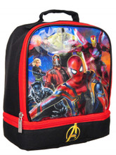 Lunch Box - Avengers Infinity Wars - Dual Compartment Insulated