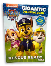 Coloring Book - Paw Patrol - 192p - Rescue Ready