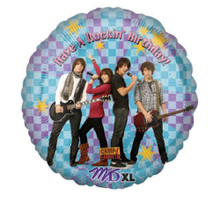 alloons - Camp Rock - Helium - 18 Inch - HBD - Multi Color