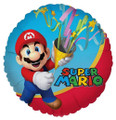 Balloons - Super Mario - Helium - 18 Inch - Red