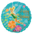 Balloons - Tinkerbell - Helium - 18 Inch - Lt Blue