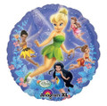 Balloons - Tinkerbell - Helium - 18 Inch - Metallic Blue