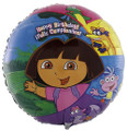 Balloons - Dora - Helium - 18 Inch - HBD - Multi Color