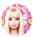 Balloons - Barbie - Helium - 18 Inch - Pink