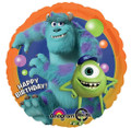 Balloons - Monster University - Helium - 18 Inch - HBD - Orange