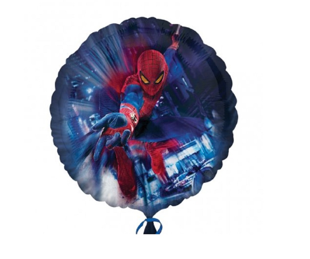 Balloons - Spiderman - Helium - 18 Inch - Black