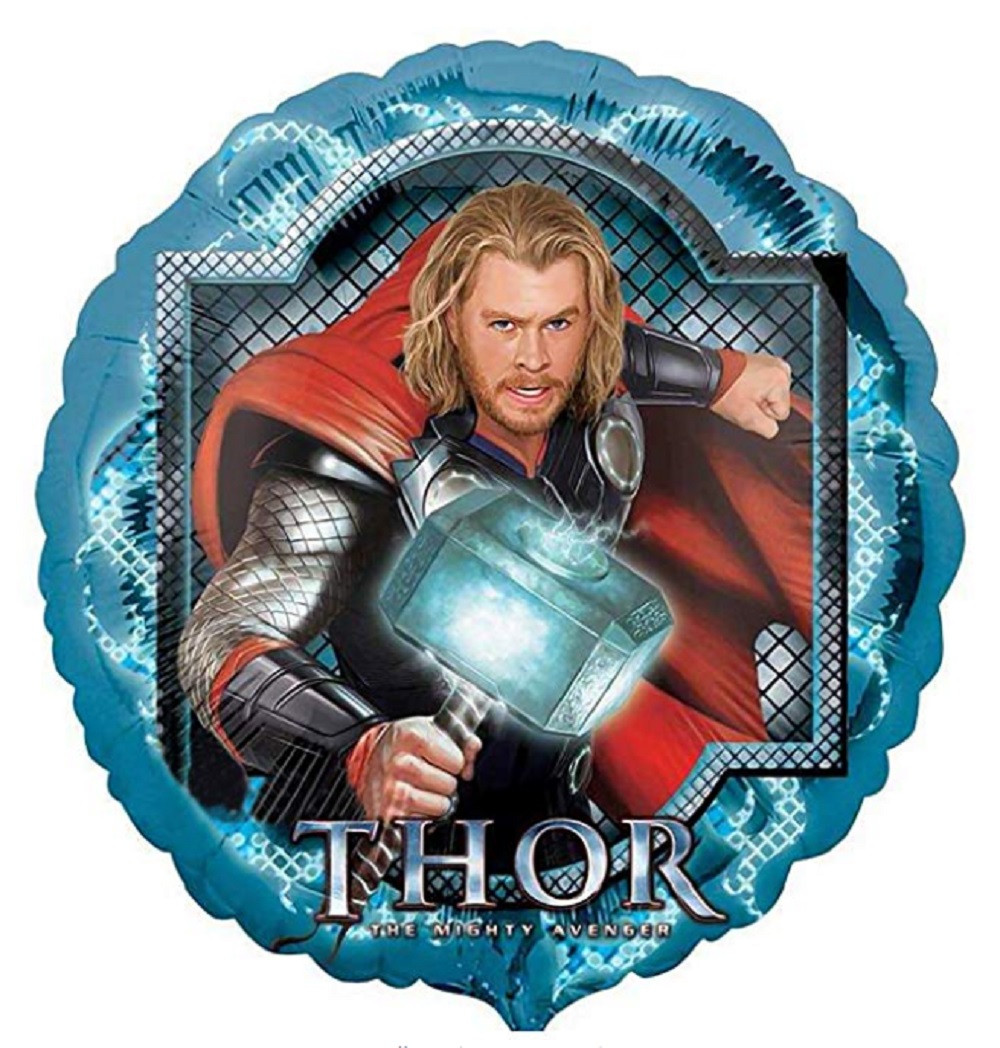 Balloons - Thor - Helium - 18 Inch - Blue