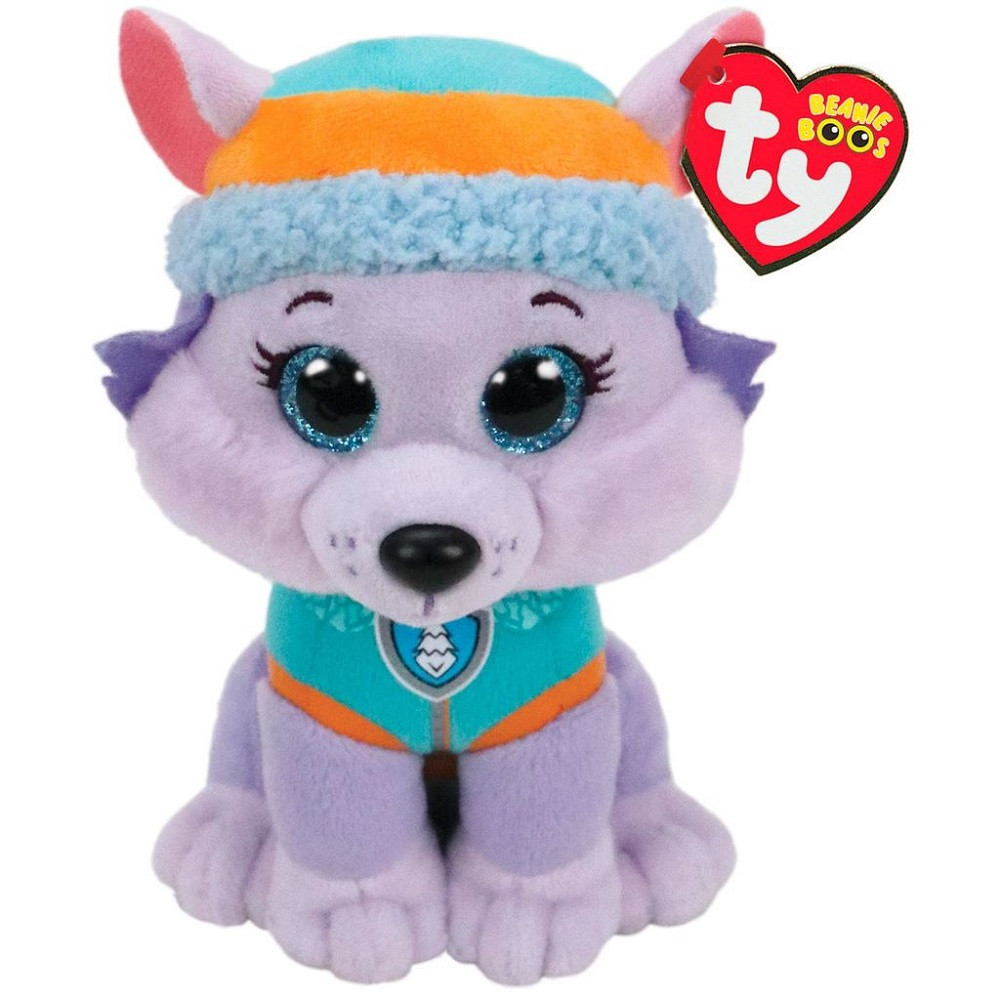 Plush Toy - Paw Patrol - Everest - Beanie Baby - 6 Inch
