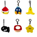 Plush Clip On - Super Mario Brothers - Mocchi Mocchi - Bundle of 6