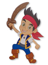Jointed Cutout - Jake the Pirate - Adorno Movil - Room Decorations