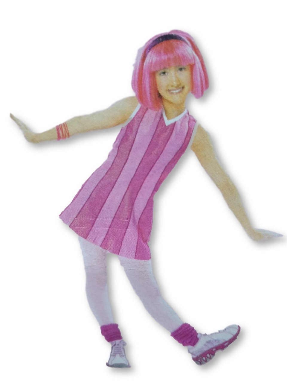 Jointed Cutout - Lazytown - Adorno Movil - Room Decorations