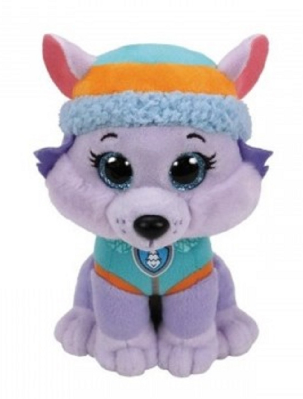 Plush Toy - Paw Patrol - Everest - Medium Size - Beanie Buddy