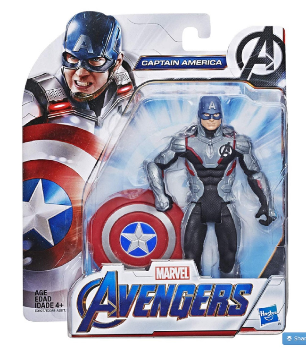 Action Figure - Avengers Endgame - Captain America - 6 Inch