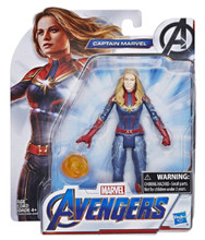 Action Figure - Avengers Endgame - Captain Marvel - 6 Inch