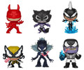 Marvel Venom Bundle of 6 Funko POP - Series 2 Venomized