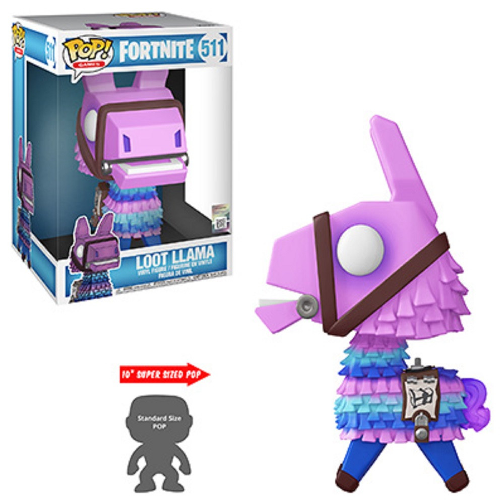 Loot Llama 10 Inch Funko POP - Fortnite - Games S3