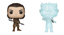 Game of Thrones Funko POP Bundle of 2 - Arya and Crystal Night King