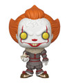 Pennywise 10 Inch Funko POP - IT - Movies - w Boat