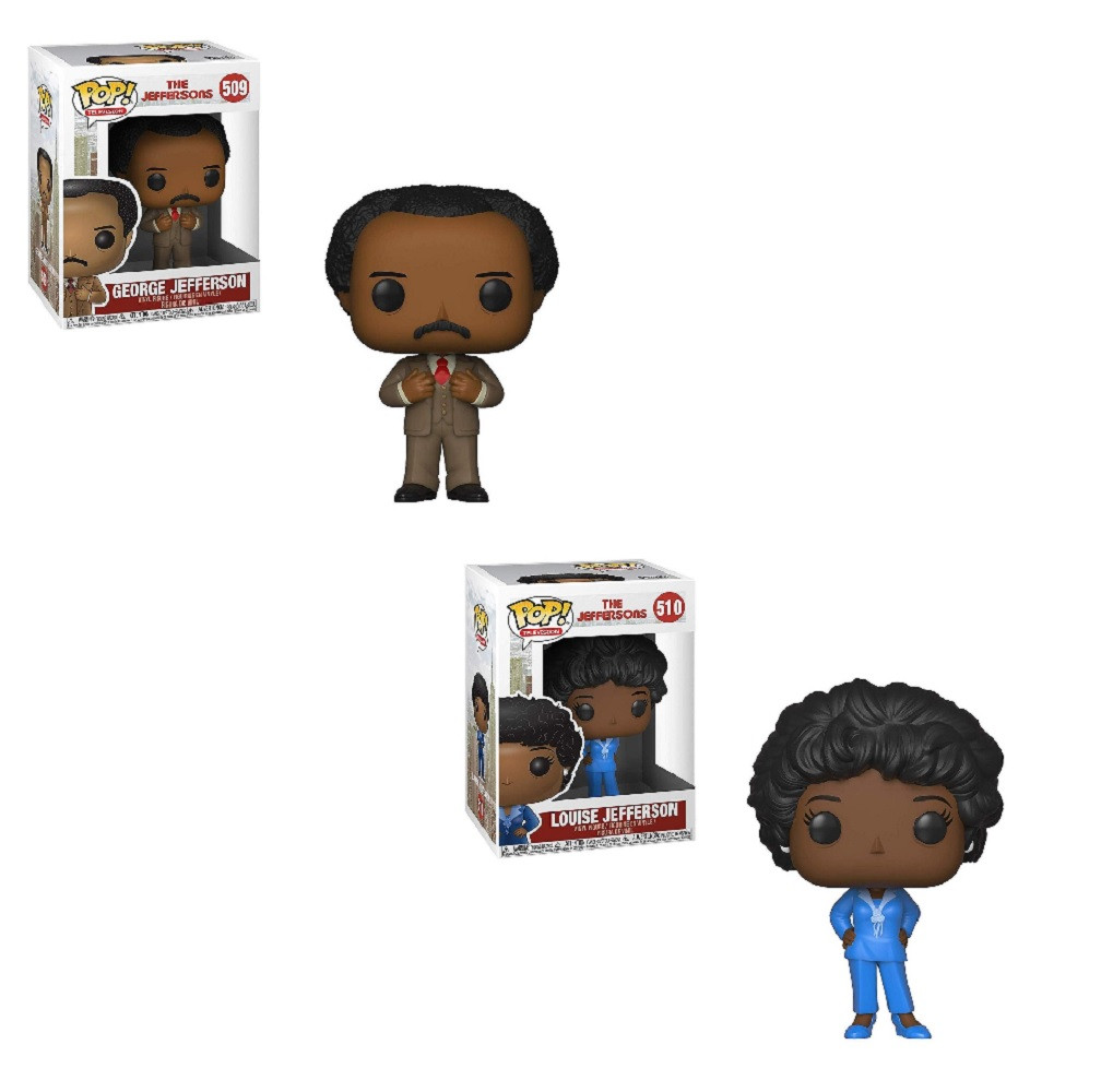 Jeffersons Funko POP Bundle of 2 - TV