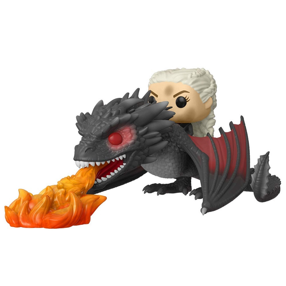 Daenerys on Fiery Drogon Funko POP Deluxe - Game Of Thrones - TV