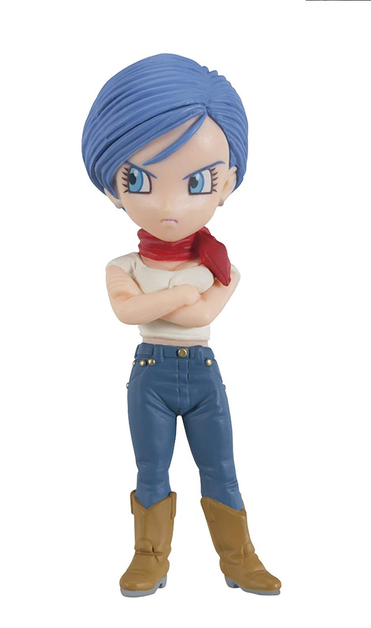 Dragon Ball Z - Bulma Figure - 2.8 Inch - WCF Series 6