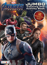 Coloring Book - Avengers Endgame - Coloring and Activity Book - 64p