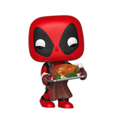 Deadpool Funko POP - Marvel Holiday - Vinyl Figure