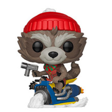 Rocket Funko POP - Marvel Holiday - Vinyl Figure