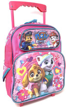 Backpack - Paw Patrol Girl - Small Rolling 12 Inch