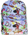 Backpack - Moana - Large 16 Inches - Purple - All Over Print