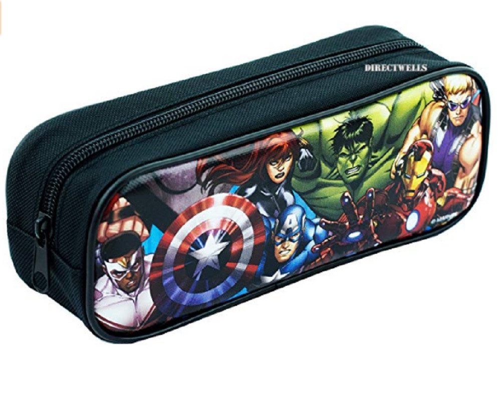 Pencil Case - Avengers - Black - 2018