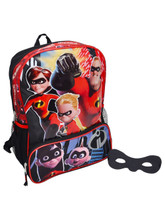 Backpack - Incredibles 2 - Large 16 Inch - Free Eye Mask