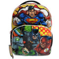 Backpack - Justice League - Large 16 Inch - w Motion Lights