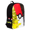 Backpack - Pokemon - Large 16 Inch - 3 Tone- side