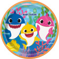 Plates - Baby Shark - Large 9 Inch - Paper - 8ct