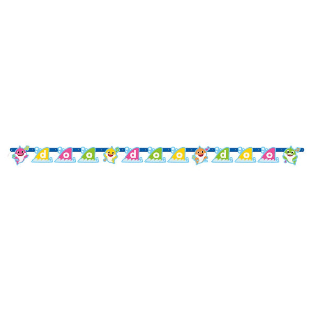 Banner - Baby Shark - Large Jointed - Paper - 1ct
