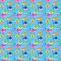 Gift Wrap - Baby Shark - 30 Inch X 5ft - Paper - 1 Roll