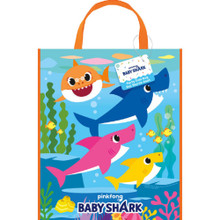 Tote Bag - Baby Shark - 13 Inch X 11 Inch - Plastic - 1ct