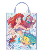 Tote Bag - Ariel Little Mermaid - 13 Inch X 11 Inch - Plastic - 1ct