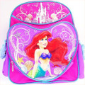 Backpack - Little Mermaid - Small 12 Inch - Purple Heart