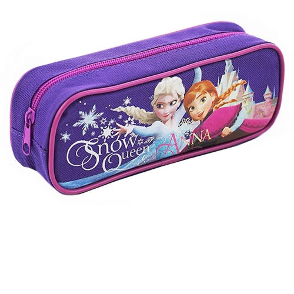 Pencil Case - Frozen - Purple - Snow Queen
