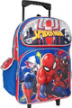 Rolling Backpack - Spider Man - Large 16 Inch - w Miles and Spider Gwen