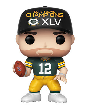 Aaron Rodgers Funko POP - NFL - Green Bay Packers - (SB Champions XLV)