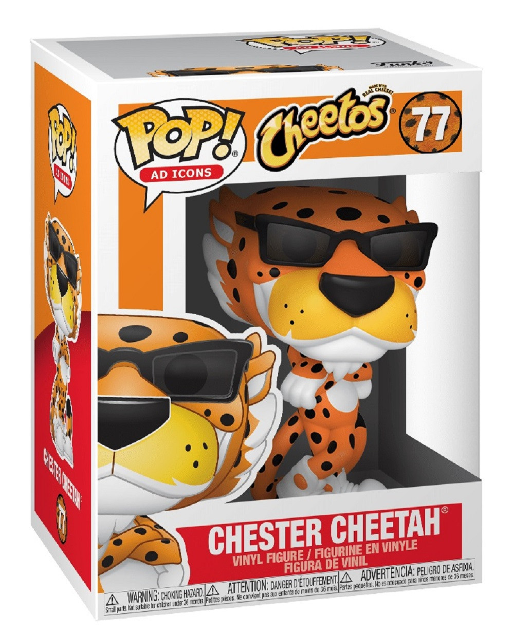 Chester Cheetah Funko POP - Ad Icons