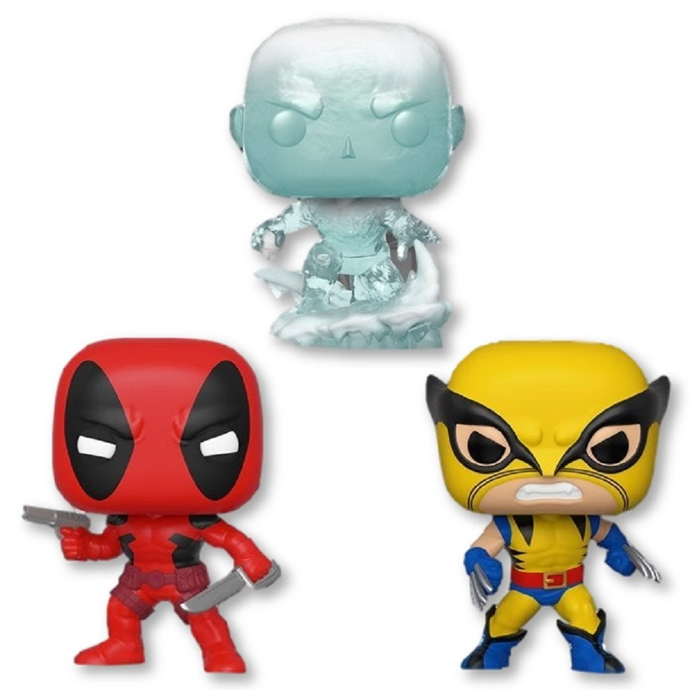 Marvel 80th Funko POP - Bundle of 3 - First Appearance