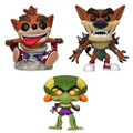 Crash Bandicoot Funko POP - Bundle of 3 - Games - S3