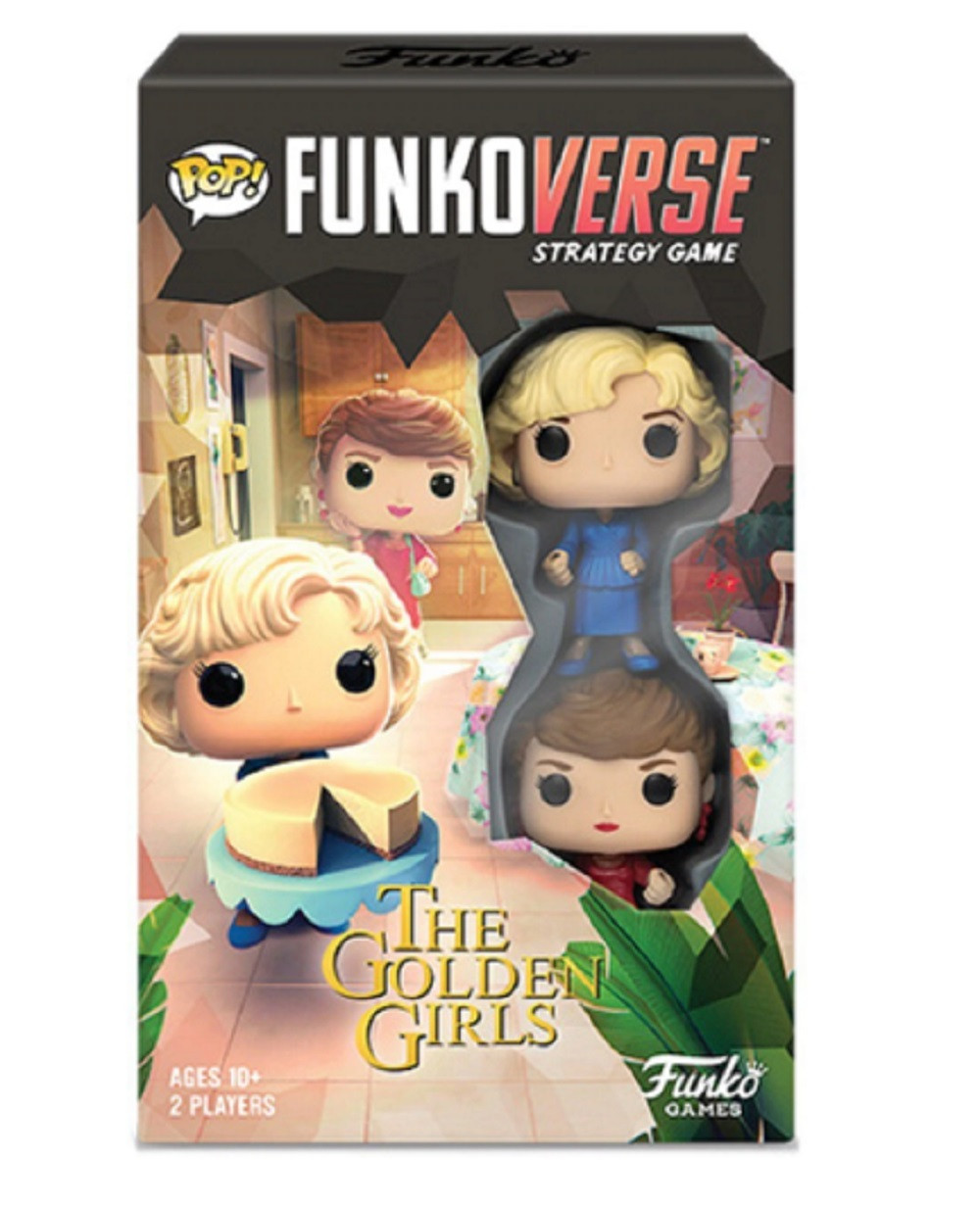 Funko POP Funkoverse Golden Girls 100 Strategy Game