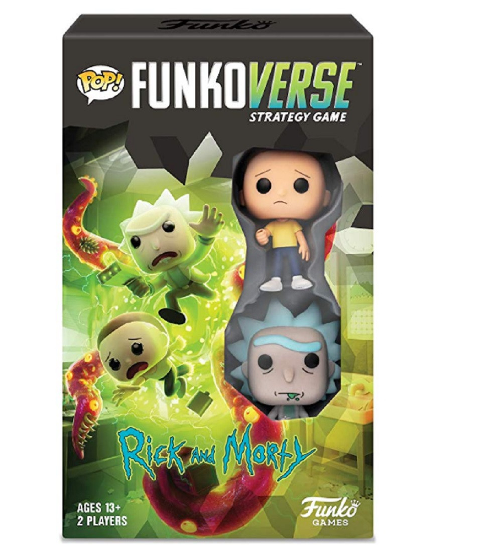 Funko POP Funkoverse Rick and Morty 100 Strategy Game