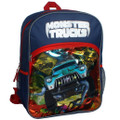 Backpack - Monster Trucks - Large 16 Inch